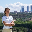 La golfista del Club Cayetana Fernández García-Poggio. Foto: Miguel Ros / CCVM