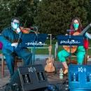 Dúo de violín y guitarra poncellina. Foto: Miguel Ros / CCVM