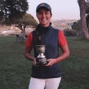 María Herráez, campeona individual CCVM. Foto: FedGolfMadrid