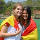 María Tello y Ana Medina