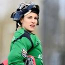 María Ángeles Ruiz, portera de hockey del Club. Foto: EHL