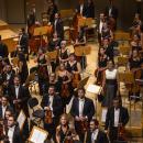 La Orquesta Metropolitana de Madrid al final de un concierto
