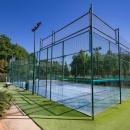 Pistas de pádel en el Club de Campo Villa de Madrid. Foto: Miguel Ros