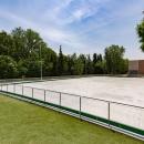 Pista patinaje Club de Campo Villa de Madrid.