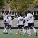 Los jugadores del Club celebran un gol. Foto: Ignacio Monsalve.