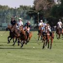 Imagen de la final del Abierto de Madrid Copa Volvo de polo disputada en el Club de Campo. Foto Miguel Ros