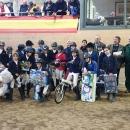 Imagen de grupo del Concurso Nacional de Saltos de Ponis de 2019.