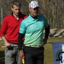 Pablo Martínez Arroyo y Carlos Balmaseda. Foto: Fernando Herranz (Federación de Golf de Madrid)