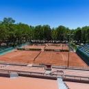 Pistas de tenis en el Club de Campo Villa de Madrid. Foto: Miguel Ros