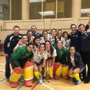 Plantilla y cuerpo técnico del Club campeón de España absoluto 2018