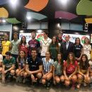 Todos los jugadores representantes de los equipos. Foto: Rafa Aparicio