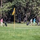 Golf en el Club de Campo Villa de Madrid.