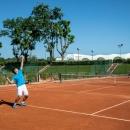 Tenis en el Club de Campo Villa de Madrid. Foto: Miguel Ros