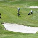 Partido de golf en el Club de Campo Villa de Madrid. Foto: Miguel Ros