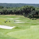 Campo de golf del Club de Campo Villa de Madrid. Foto: Miguel Ros