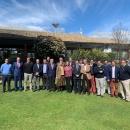 Participantes en la reunión con la AECG.