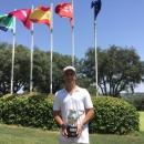 El jugador de golf Santiago Vega de Seoane. Foto: FGM