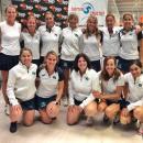 Equipo subcampeón de España de pádel en categoría veterana 1.