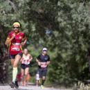 Participantes del Trail, en pleno esfuerzo. Foto: Miguel Ros