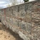 Reconstrucción de la tapia perimetral de Sabatini del Club de Campo