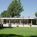 Terraza del Chalet de Tenis del Club de Campo.