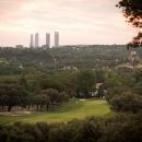 Campo de golf del Club de Campo Villa de Madrid.