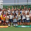 El Club de Campo celebra el Campeonato de España juvenil de hockey femenino. Foto: Ignacio Monsalve