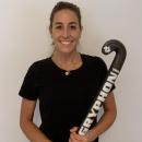 La jugadora de hockey del Club María López.