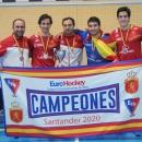 De izda. a dcha: Eduardo Aguilar, Ignacio Abajo, Alejandro Iglesias, Álvaro Negrete y Enrique Zorita.