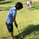 Clase golf en el Club de Campo.