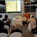 Clase magistral de Ajedrez por el Gran Maestro Internacional Pablo San Segundo