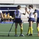 Las jugadoras del Club celebran un gol. Foto: Ignacio Monsalve